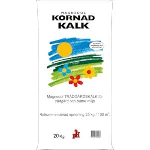 Trädgårdskalk Magnedol Kornad, 20 kg