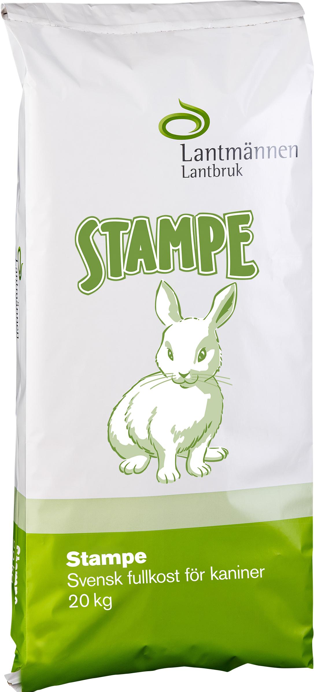 Kaninfoder Stampe, 20 kg
