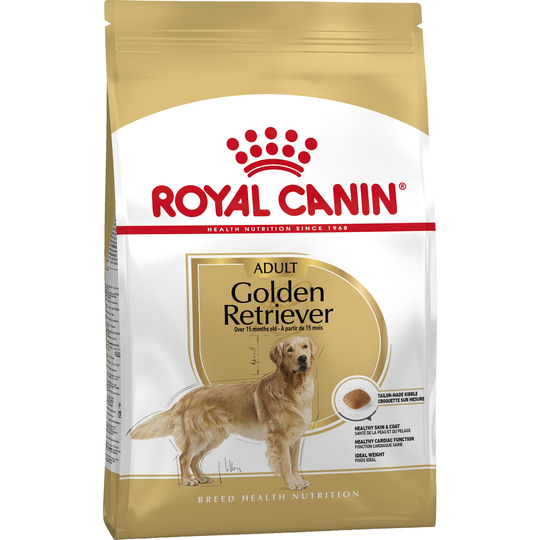 Hundfoder Royal Canin Golden Retriver 25 Adult, 12 kg