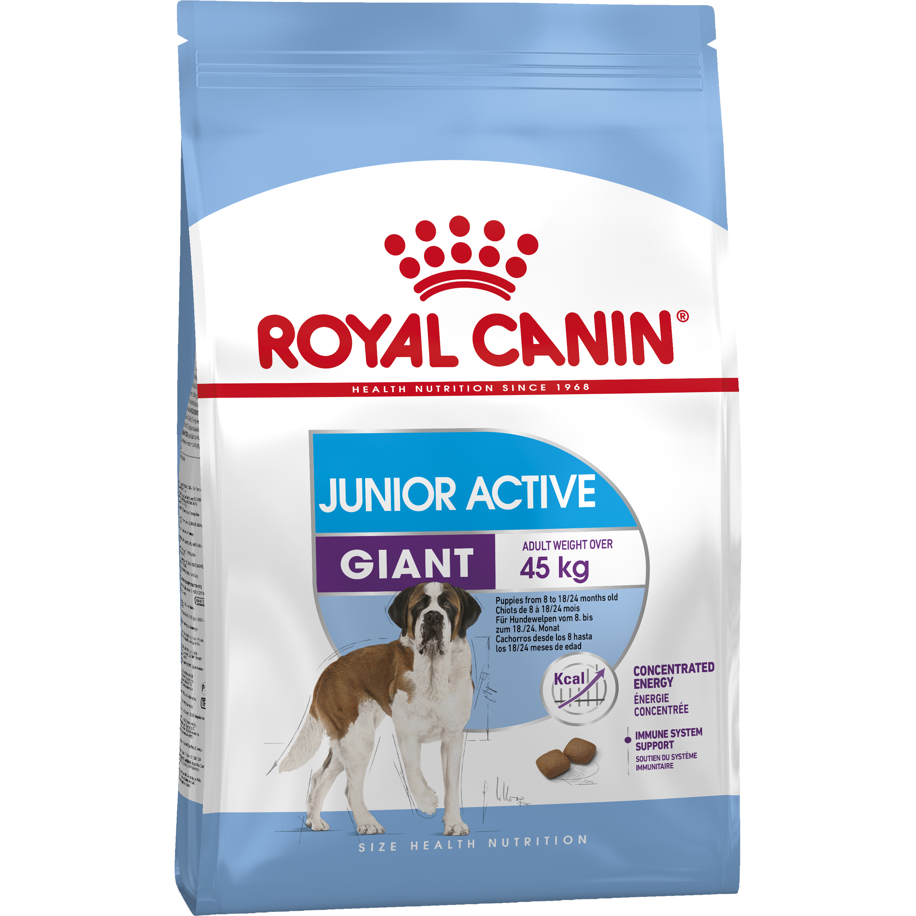 Hundfoder Royal Canin Giant Junior Active, 15 kg