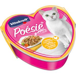 Kattmat Vitakraft Poesie Kyckling och Grönsaker i sås, 85 g