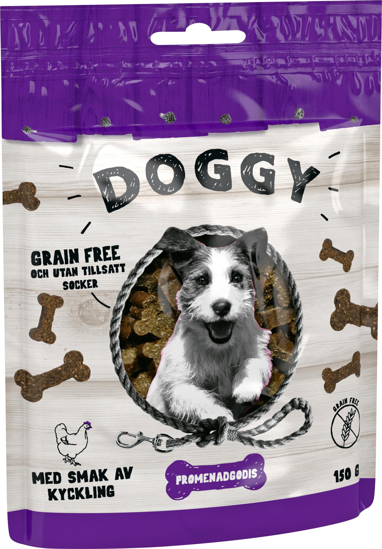 Hundgodis Doggy Grain Free, 150 g