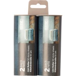 Klädvårdsrulle Smart Refill Trä/plast, 2-pack