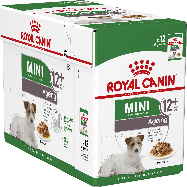 Hundfoder Royal Canin Mini Ageing, 12x85 g