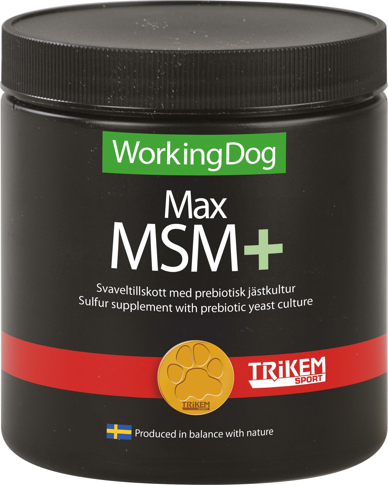 Tillskott Trikem WorkingDog Max MSM+, 450 g
