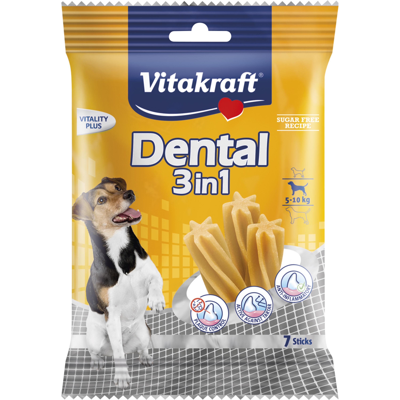 Hundtugg Vitakraft Dental 3in1 5-10 kg, 7-pack