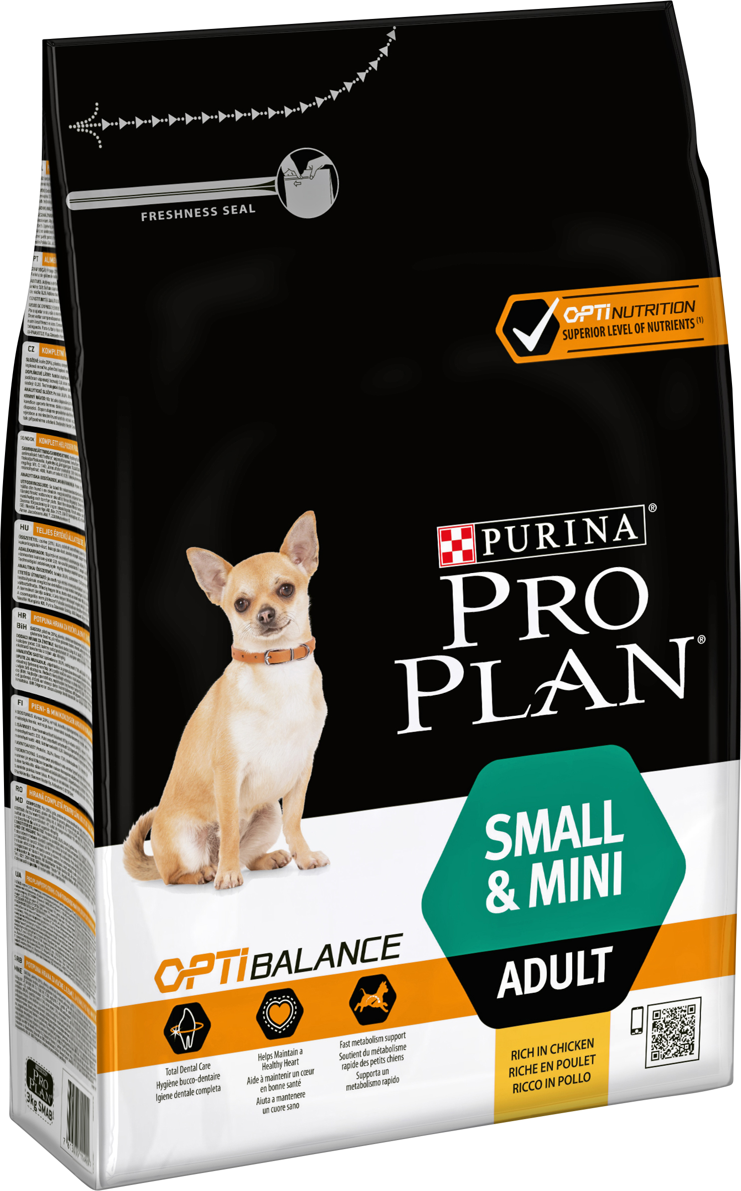 Hundfoder Pro Plan Small & Mini Adult, 3 kg