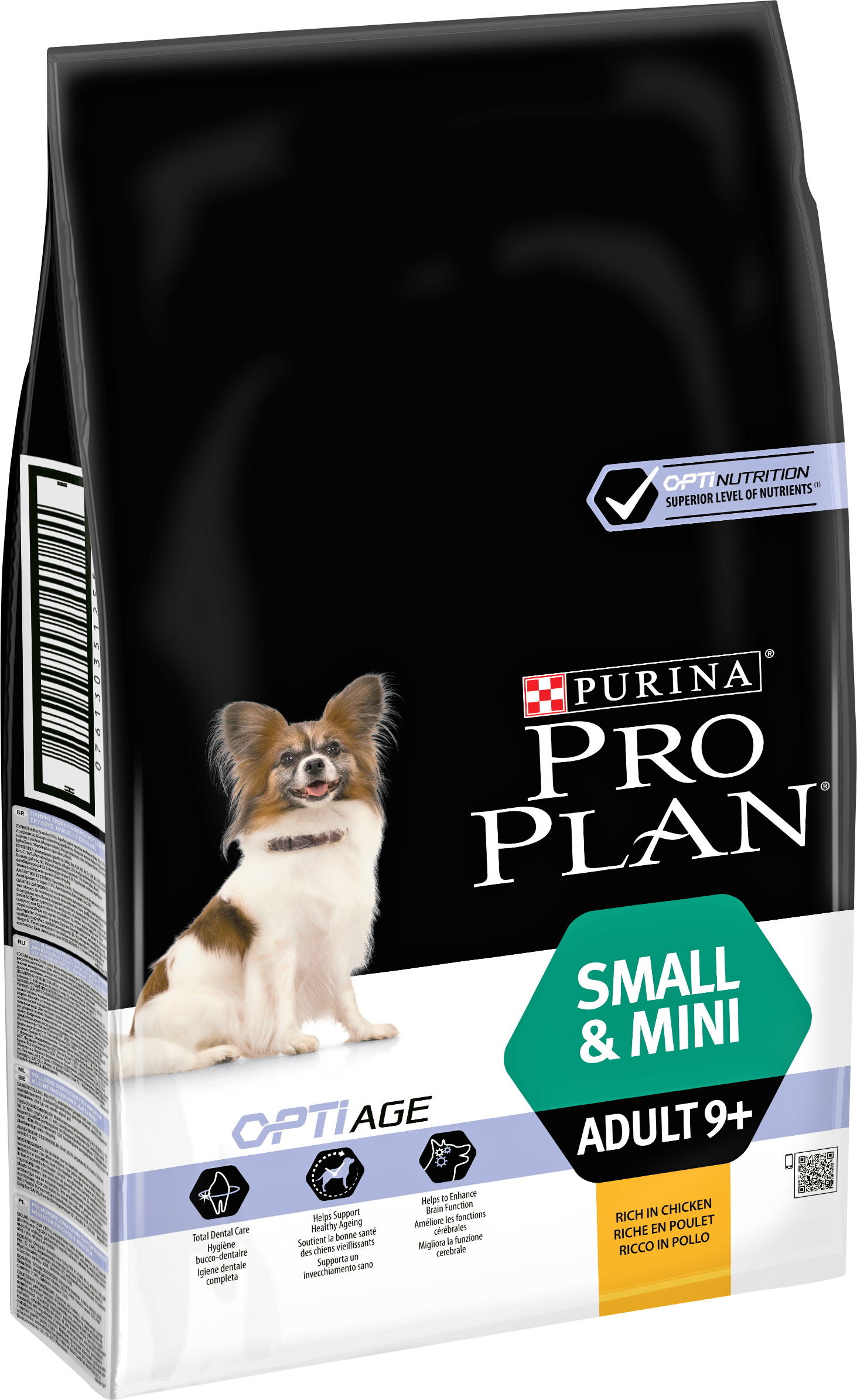 Hundfoder Pro Plan Small & Mini Adult 9+, 7 kg