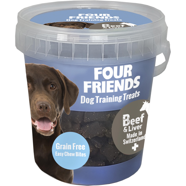 Hundgodis Four Friends Träning Biff och Lever, 400 g