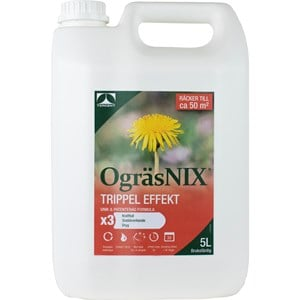 Ogräsmedel OgräsNIX Trippel Effekt, 5 l