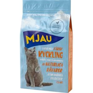 Kattmat Mjau Kyckling, 7,5 kg