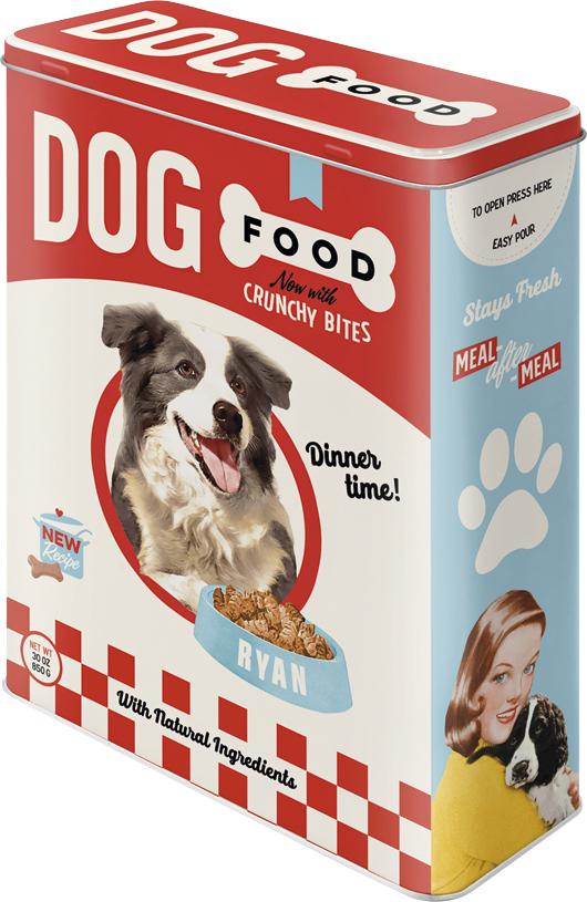 Plåtburk Dog Food Dinner Time, 4 l