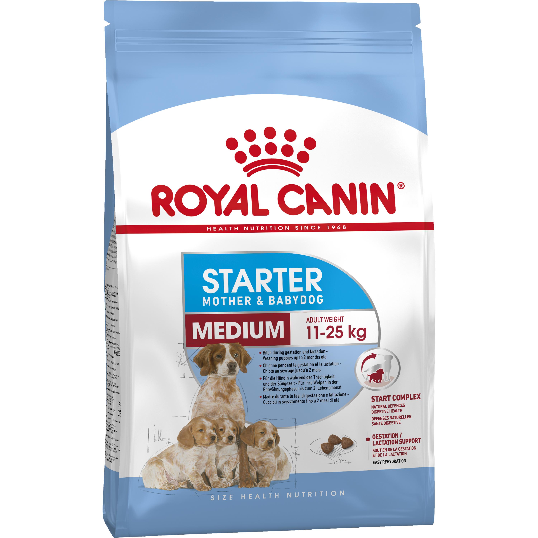 Hundfoder Royal Canin Medium Starter, 12 kg