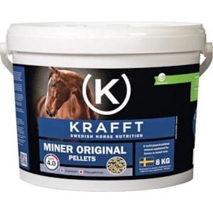 Hästfoder Krafft Miner Original Pellets, 8 kg