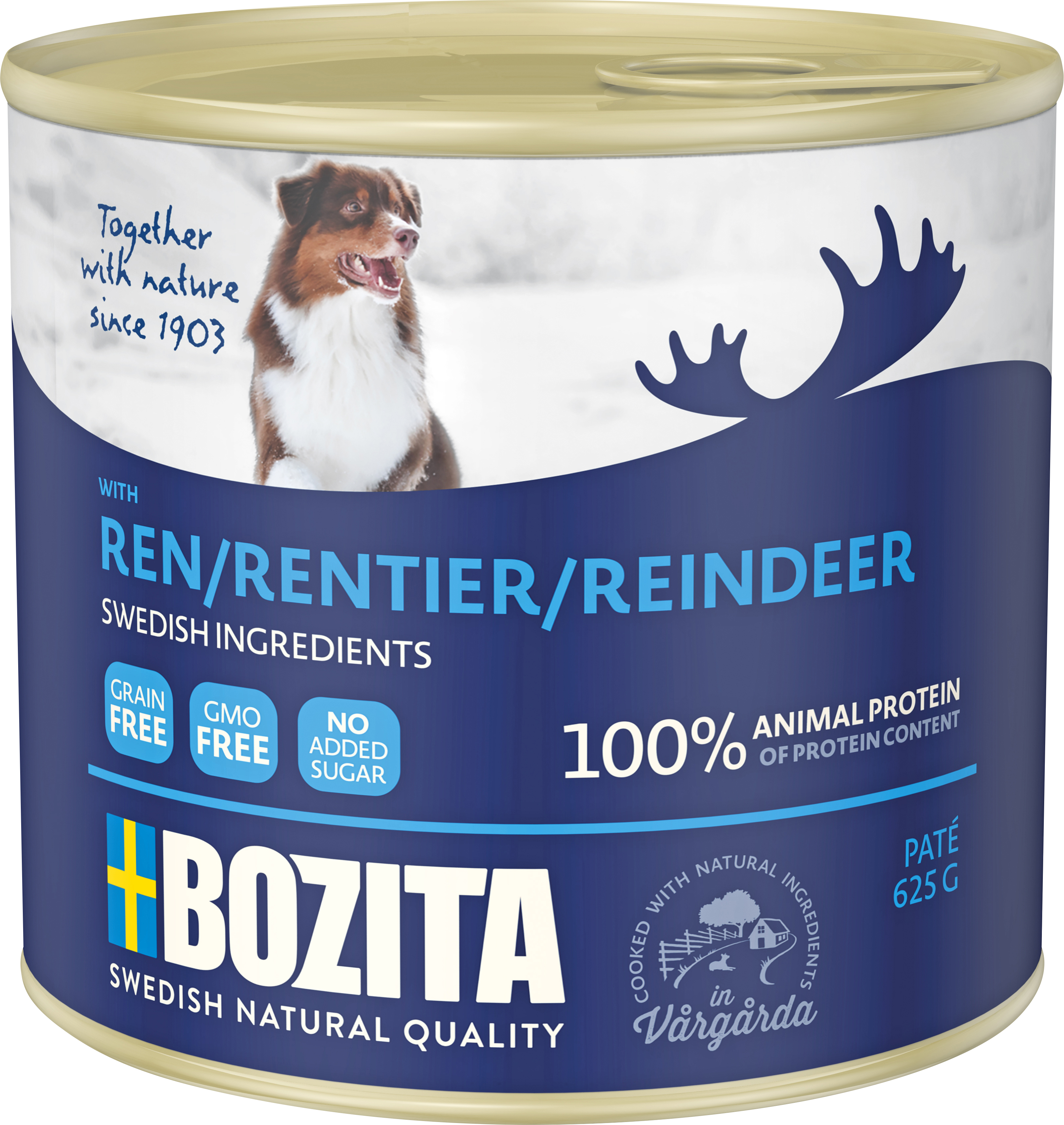 Hundfoder Bozita Ren Konserv 625 gram