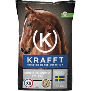 Hästfoder Krafft Miner Balance P Pellets, 20 kg