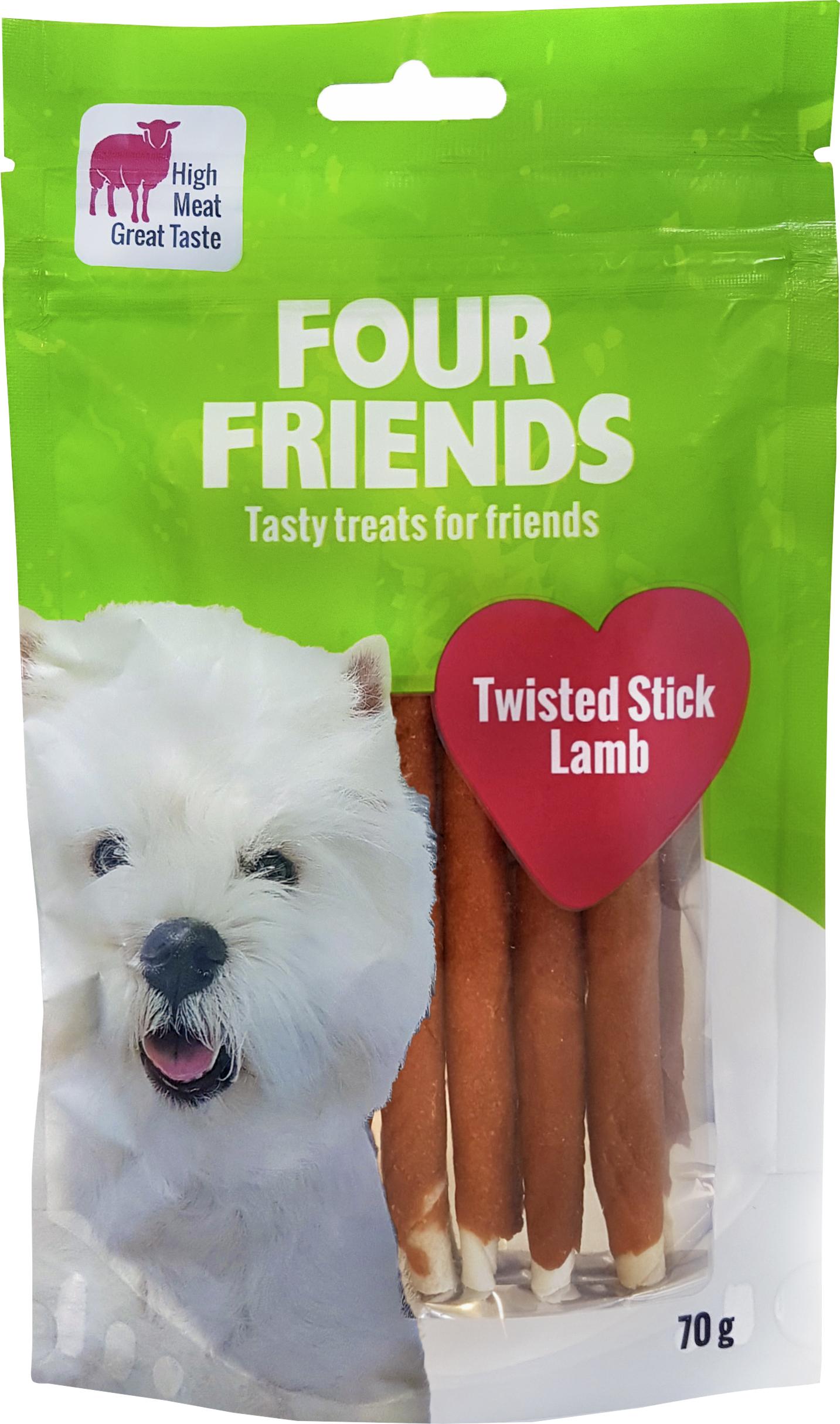 Hundtugg Four Friends Lamm 12,5 cm, 7 st