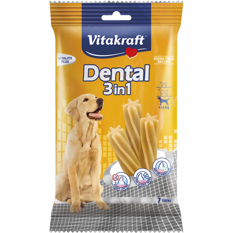 Hundtugg Vitakraft Dental 3in1  >10 kg, 7-pack