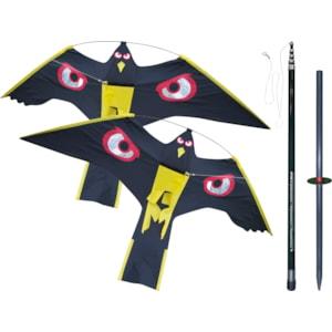 Fågelskrämma Ryom 2 drakar, 10 m