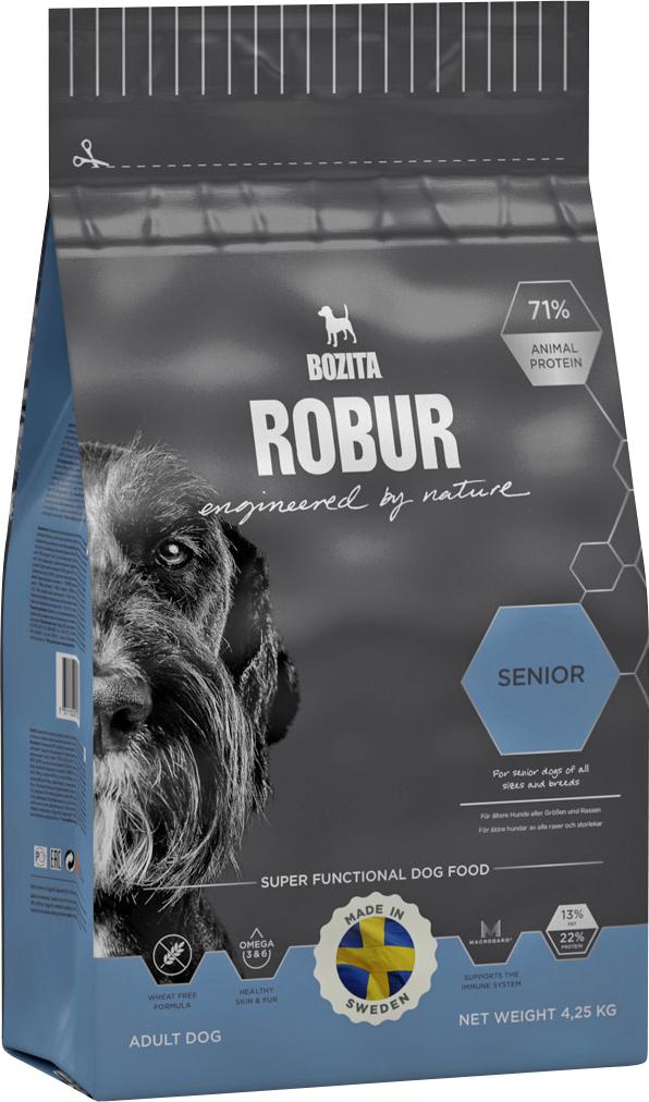 Hundfoder Bozita Robur Senior, 4,25 kg