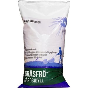 Gräsfrö Granngården Gårdsidyll, 3 kg
