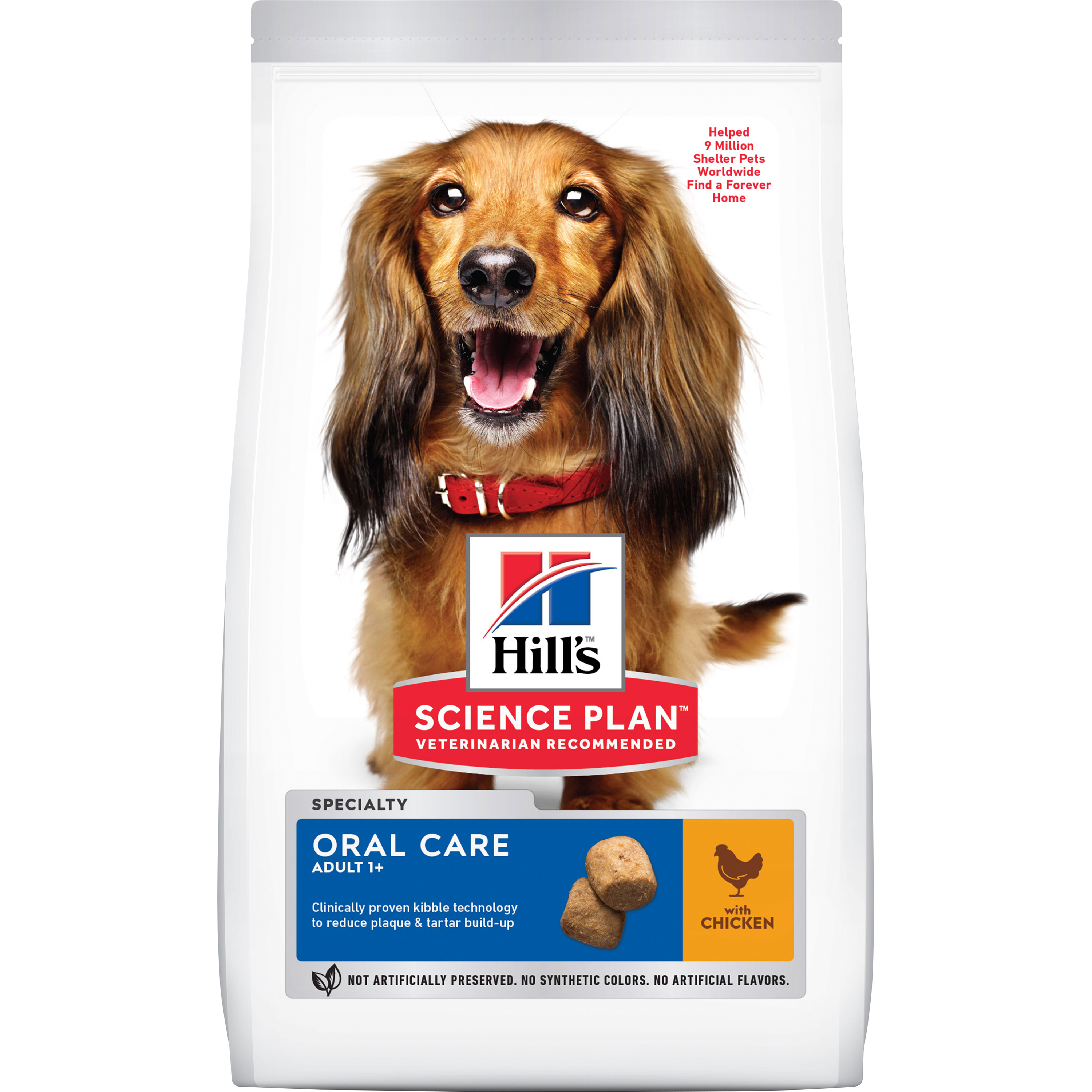 Hundfoder Hills Science Plan Adult Oral Care Medium Kyckling, 2 kg