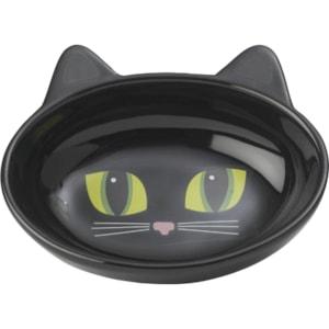 Matskål Pet Ragous Keramik Frisky Kitty Oval, Svart