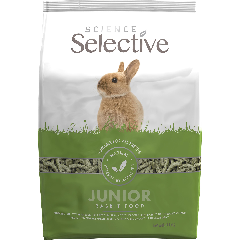 Kaninfoder Selective Junior, 1,5 kg