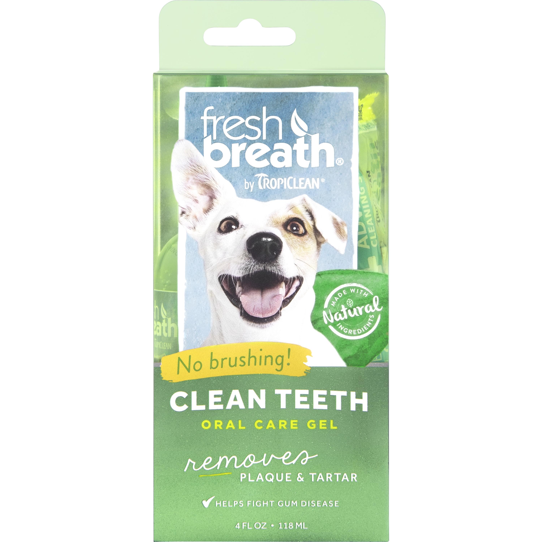 Tandvårdsgel TropiClean Hund, 118 ml