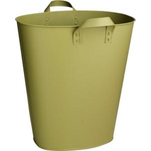 Kruka Zink, Grön 27 x 18.5 x 28 cm