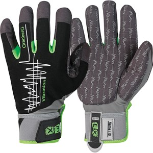 Handskar Granberg Antivibration Syntet, Svart 11