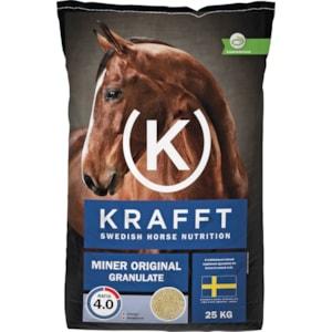 Hästfoder Krafft Miner Original Granulate, 25 kg