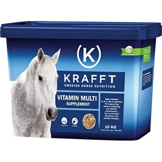 Fodertillskott Krafft Vitamin Multi, 10 kg