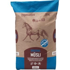 Hästfoder Granngården Original Müsli, 20 kg