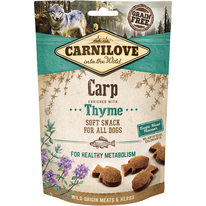 Hundgodis Carnilove Semi Moi Snack Karp, 200 g