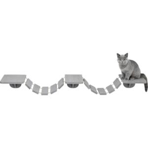 Klätterbro Katt Trixie Väggmonterad