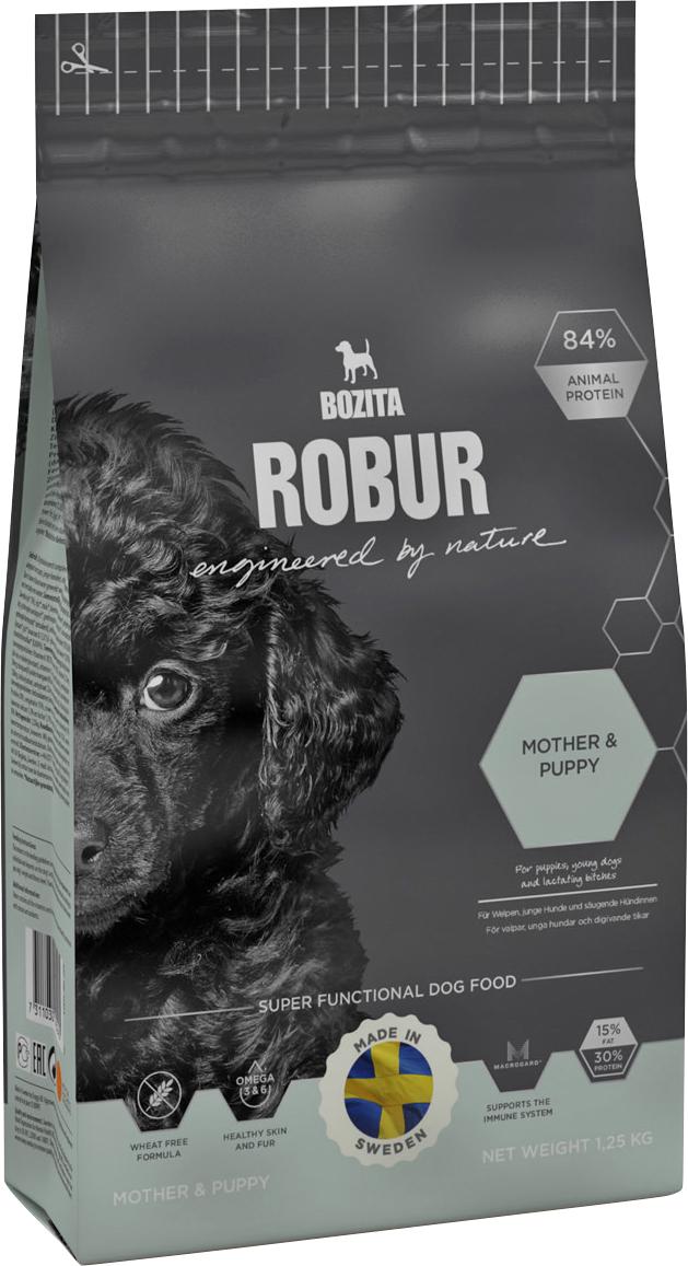 Hundfoder Robur Mother & Puppy, 1,25 kg