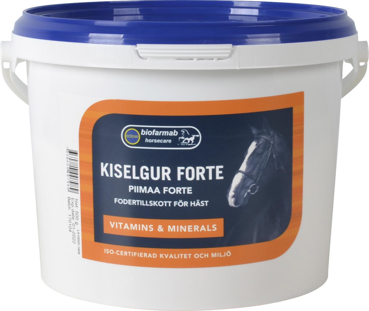 Fodertillskott Eclipse Biofarmab Kiselgur Forte, 500 g
