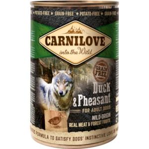 Hundfoder Carnilove Canned Duck & Pheasant 400g