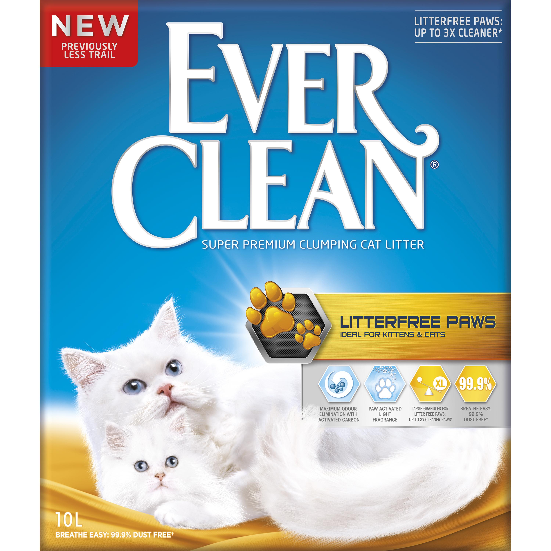 Kattsand EverClean Litter Free Paws, 10 l