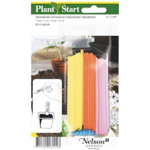 Sticketiketter Nelson Garden, 40-pack