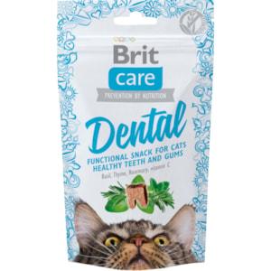 Kattgodis Brit Care Dental 50 g