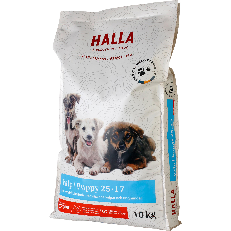 Hundfoder Halla Valp, 10 kg