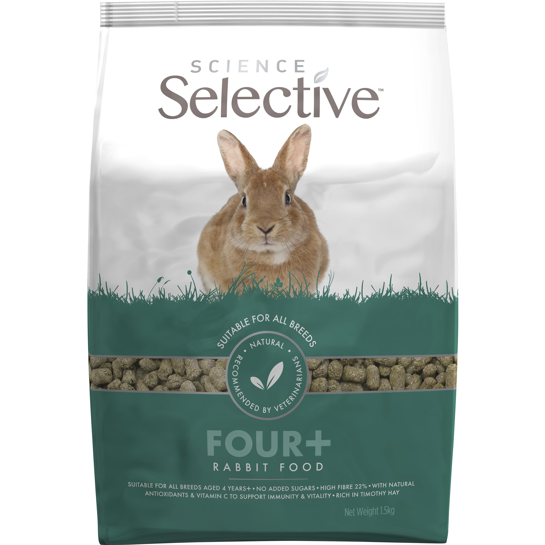 Kaninfoder Selective 4+ Pellets, 1,5 kg