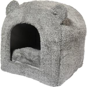 Kattbädd Rosewood Teddy 38 cm, Grå