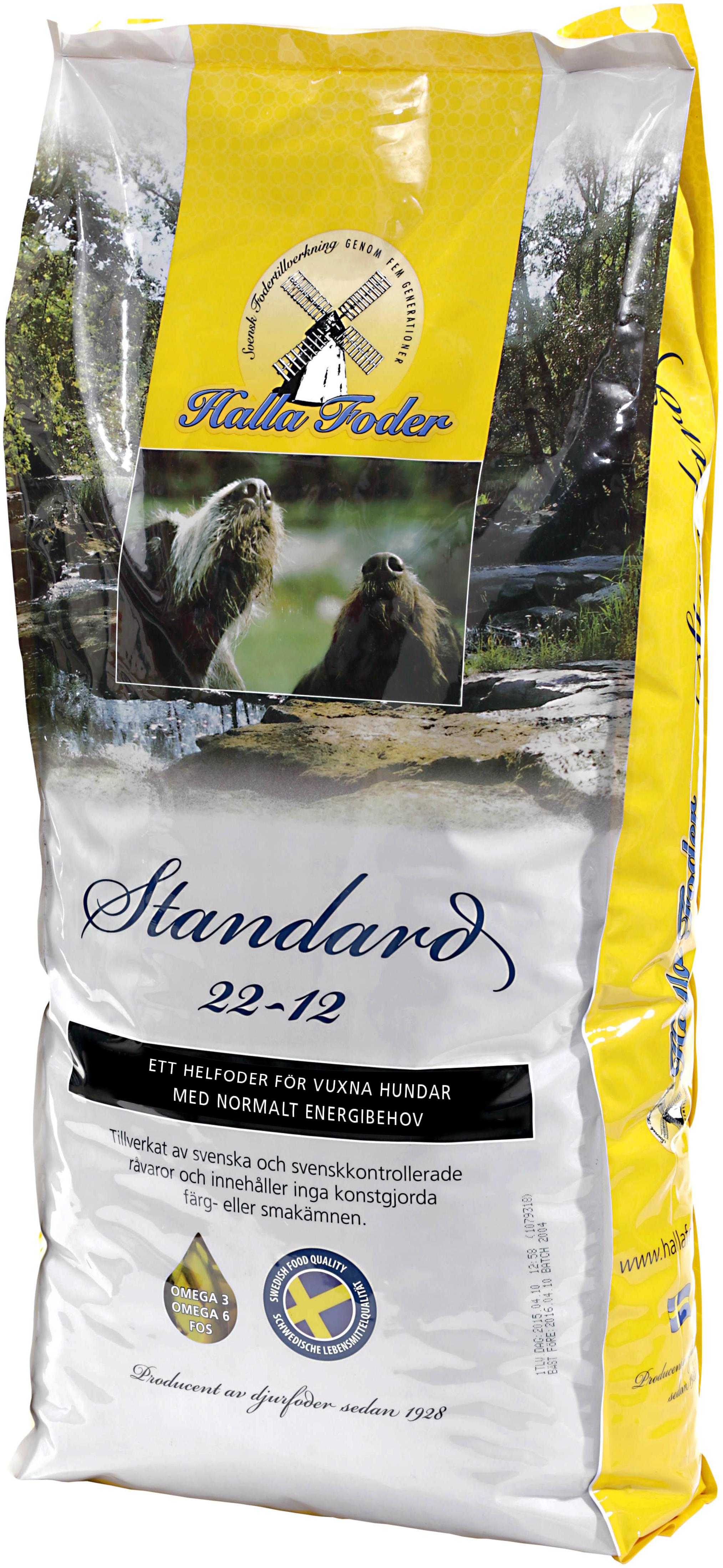 Hundfoder Halla Standard, 15 kg