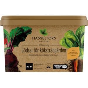 Trädgårdsgödsel Hasselfors Gödsel för Köksträdgården, 3 l
