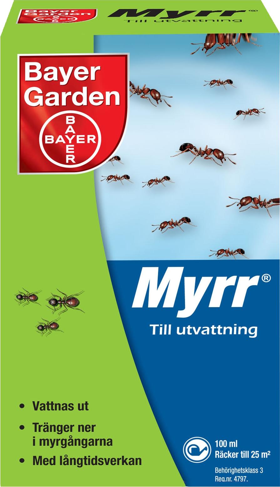 Myrmedel Bayer Garden Myrr, 100 ml