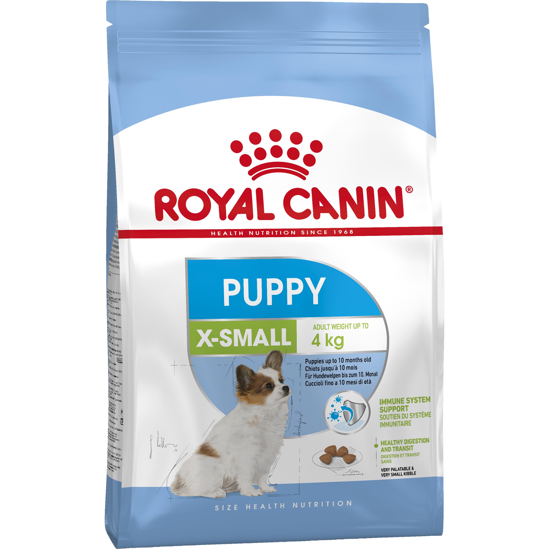 Hundfoder Royal Canin X-small Junior, 3 kg