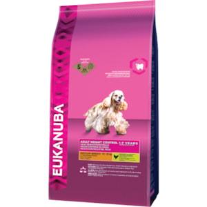 Hundfoder Eukanuba Adult Small & Medium Weight Control, 12 kg